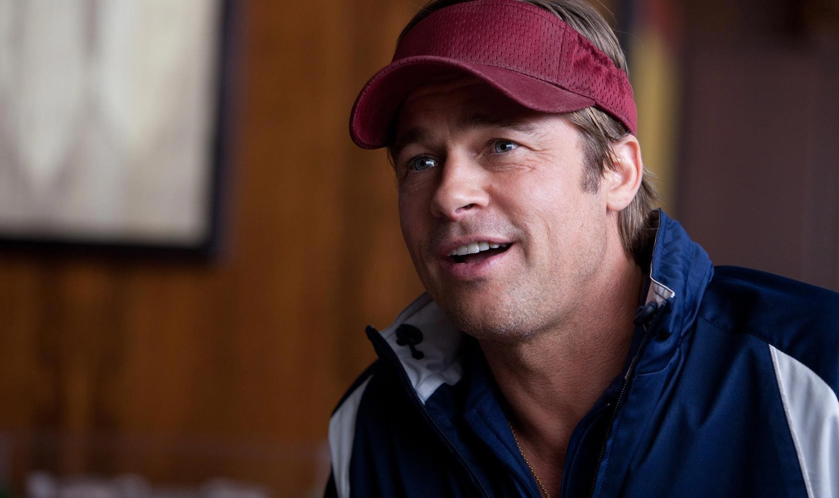 Brad Pitt stars as Billy Beane in Columbia Pictures' Moneyball (2011)