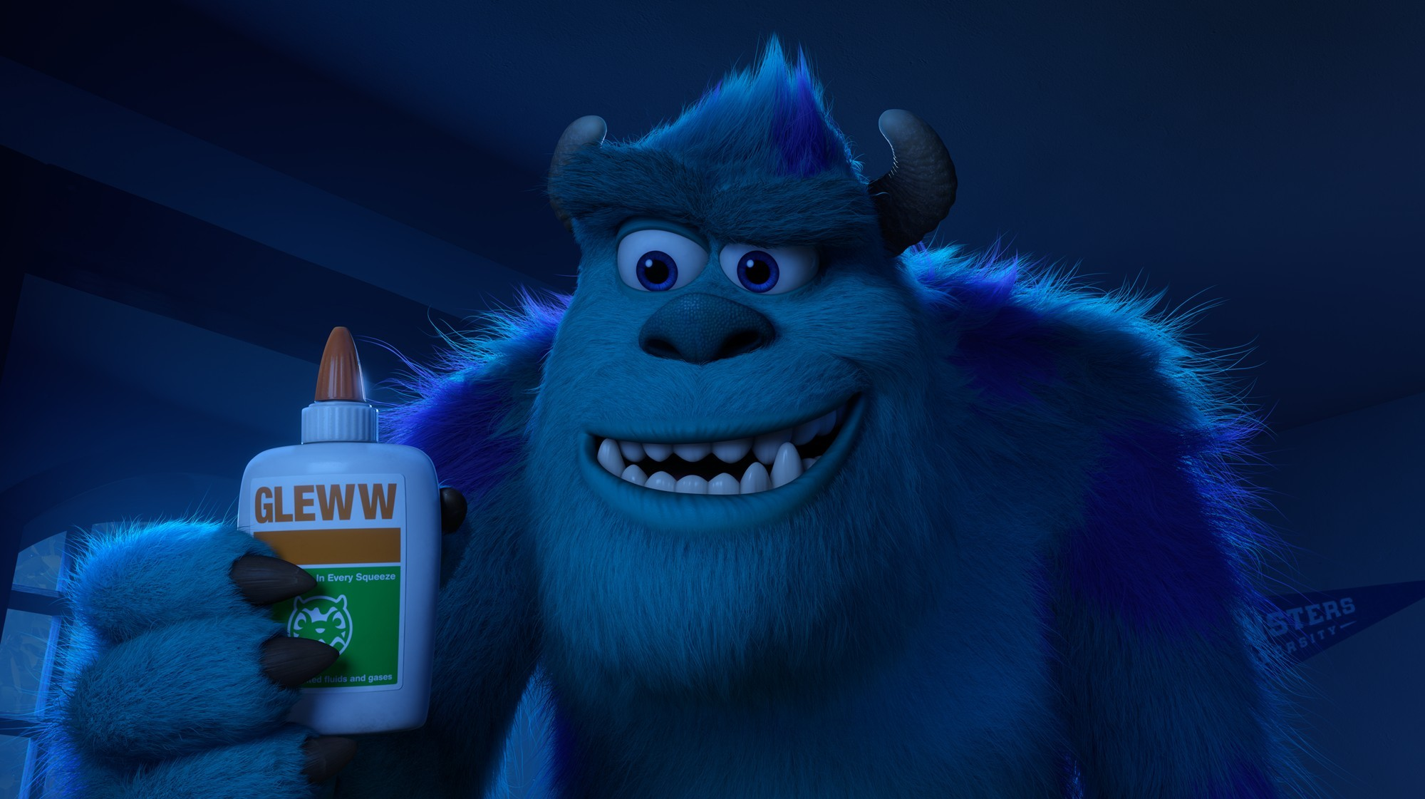 Sulley from Walt Disney Pictures' Monsters University (2013)