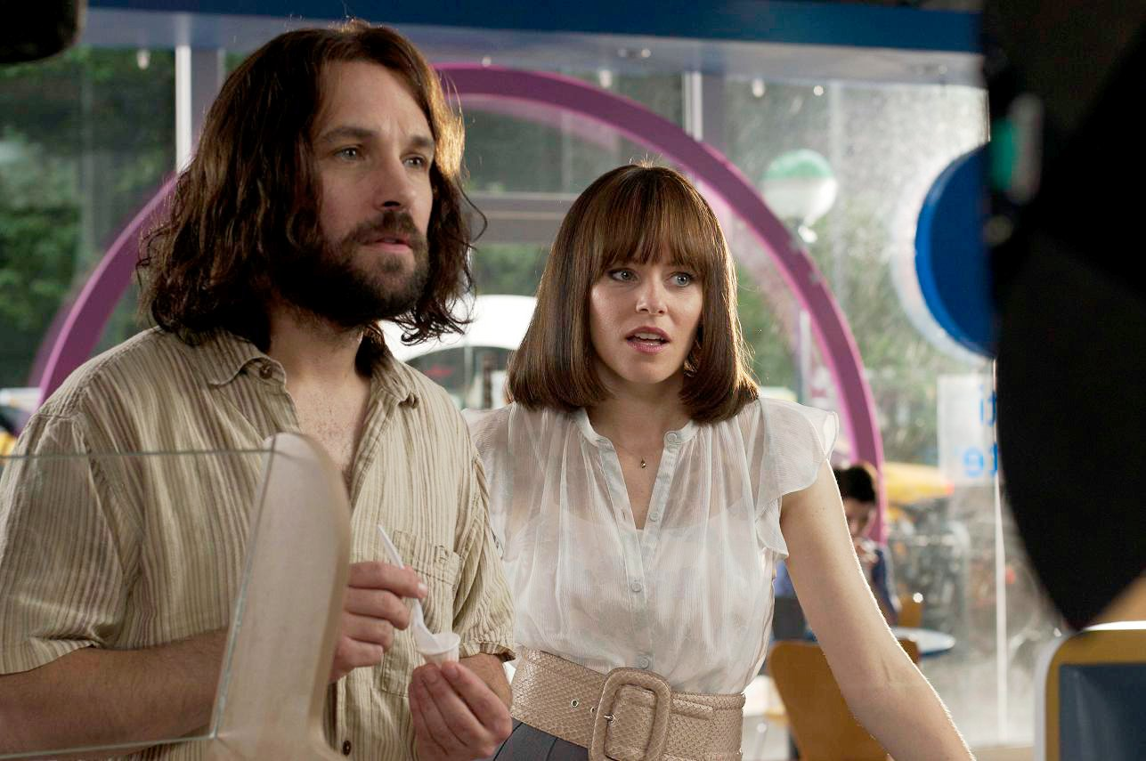 Paul Rudd stars as Ned and Elizabeth Banks stars as Miranda in The Weinstein Company's Our Idiot Brother (2011)