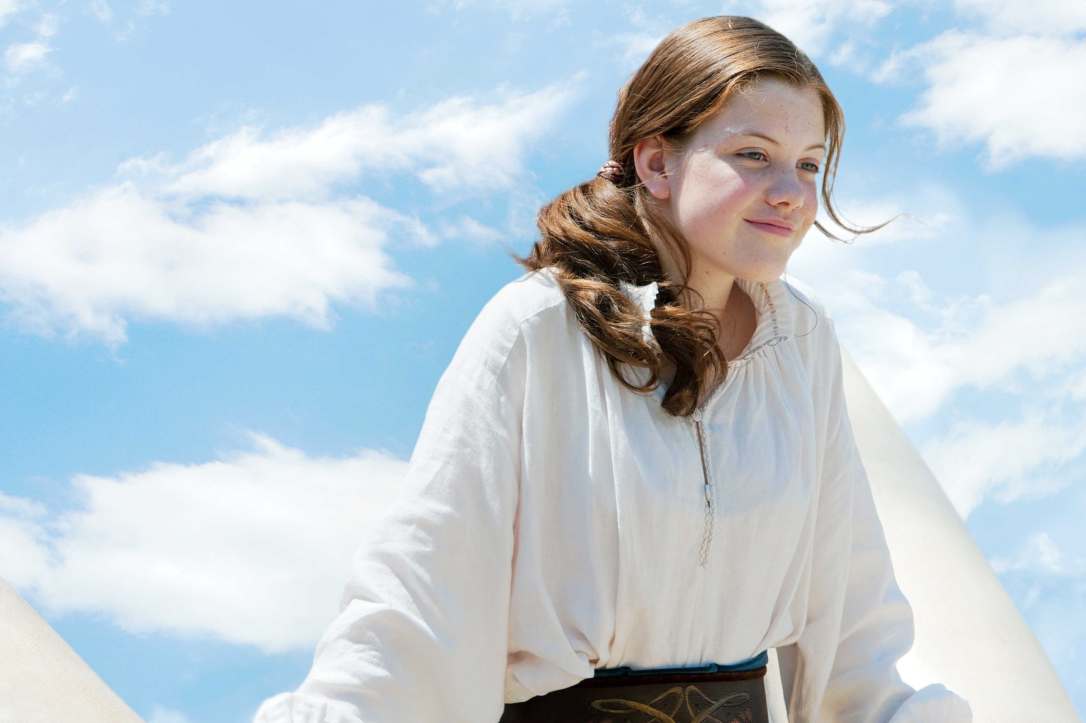 Georgie Henley stars as Lucy Pevensie in Fox Walden's The Chronicles of Narnia: The Voyage of the Dawn Treader (2010)