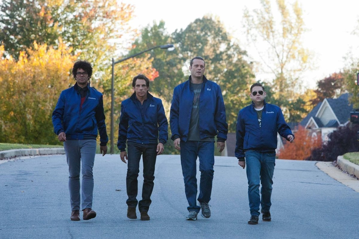Richard Ayoade, Ben Stiller, Vince Vaughn, Jonah Hill