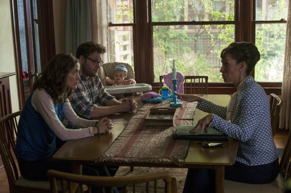 Rose Byrne stars as Kelly Radner and Seth Rogen stars as Mac Radner in Universal Pictures' Neighbors (2014)