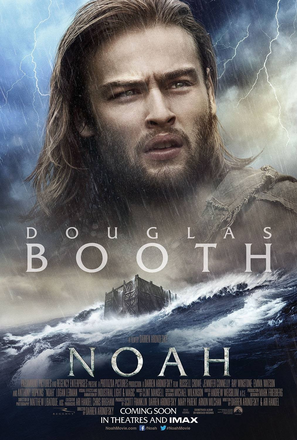 Poster of Paramount Pictures' Noah (2014)