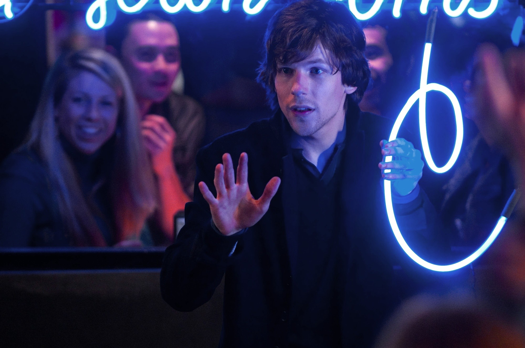 Jesse Eisenberg stars as Michael Atlas in Summit Entertainment's Now You See Me (2013)