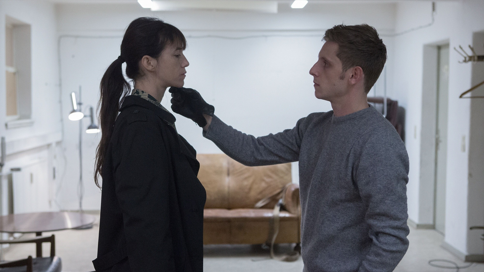 Charlotte Gainsbourg stars as Joe and Jamie Bell stars as K in Magnolia Pictures' Nymphomaniac (2014)