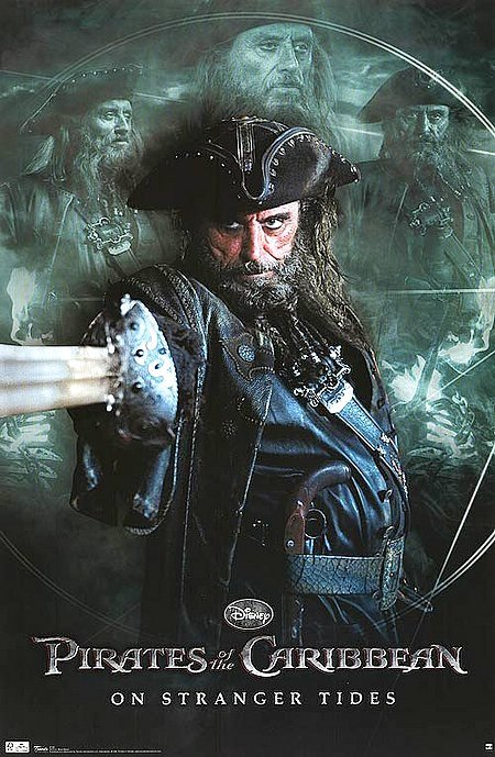 Poster of Walt Disney Pictures' Pirates of the Caribbean: On Stranger Tides (2011)