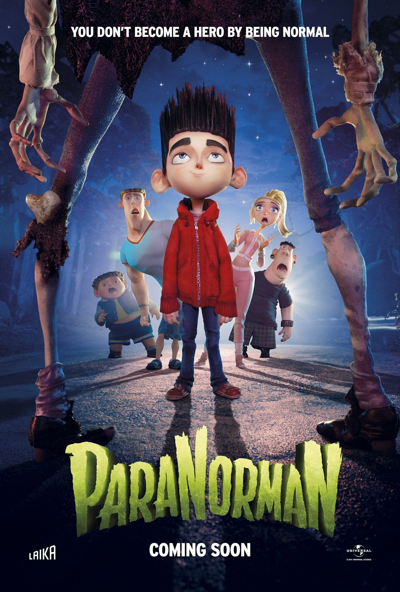 Poster of focus features paranorman 2012