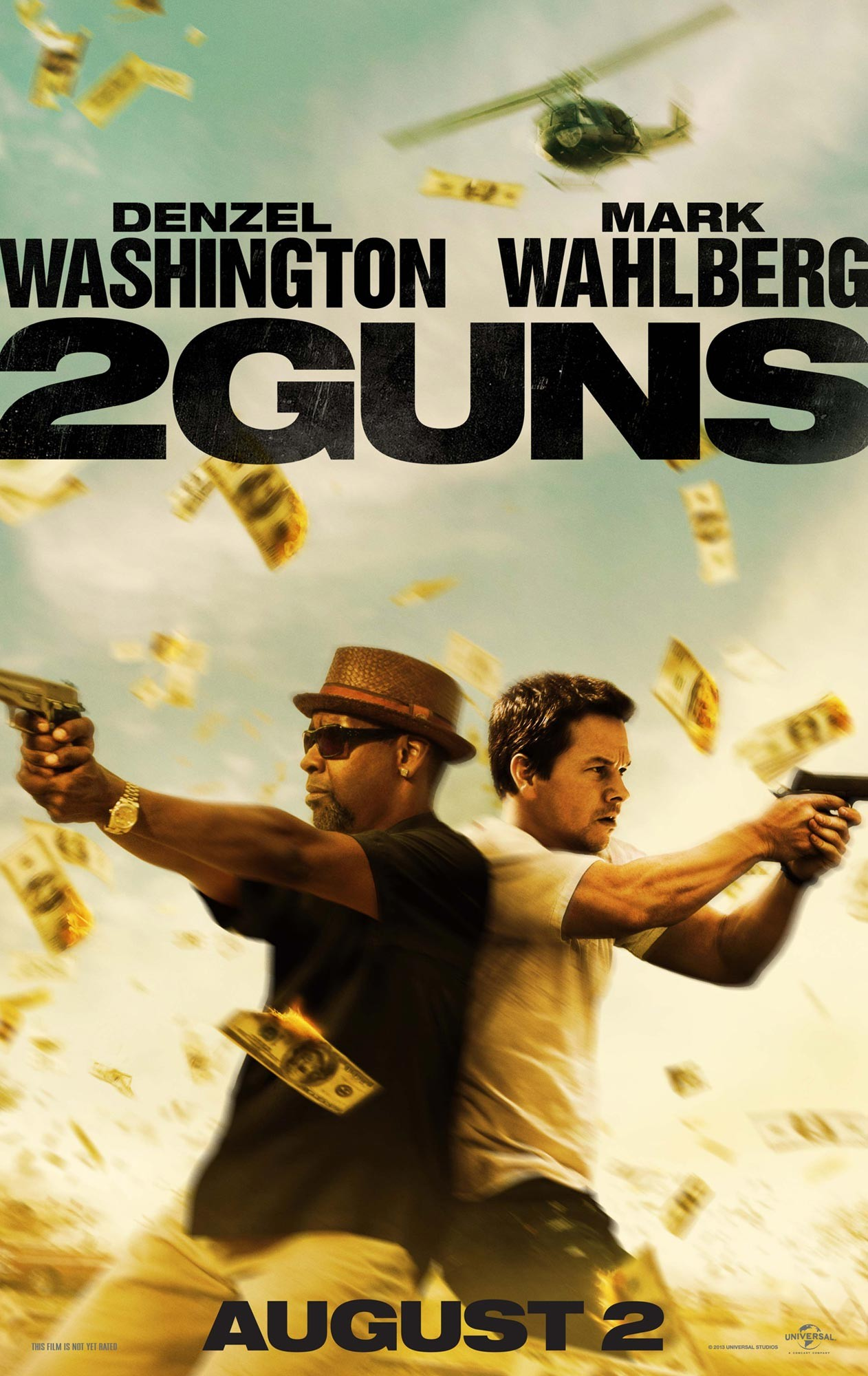 Poster of Universal Pictures' 2 Guns (2013)