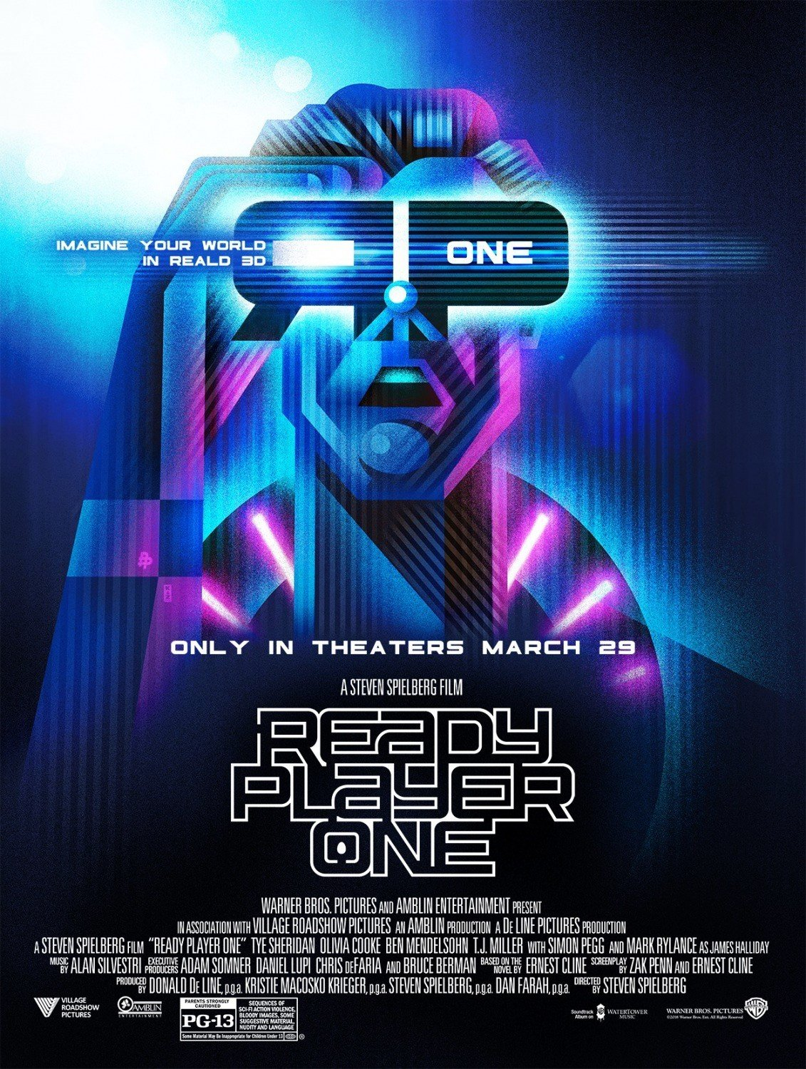 Poster of Warner Bros. Pictures' Ready Player One (2018)