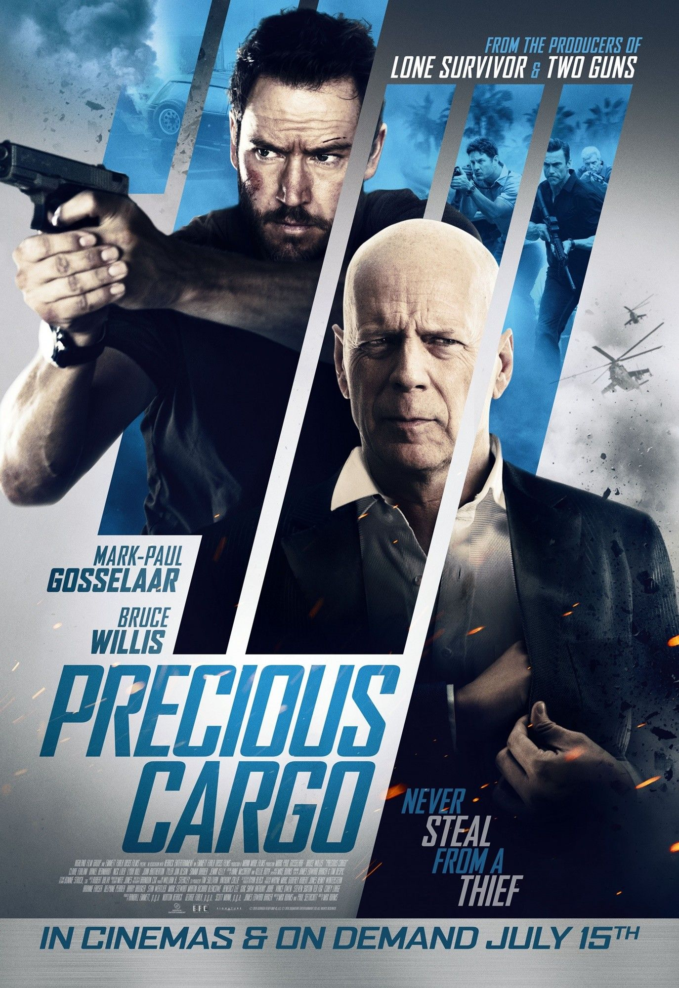Poster of Grindstone Entertainment's Precious Cargo (2016)