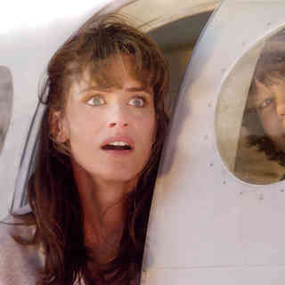 Amanda Peet stars as Kate Curtis and Liam James stars as Noah Curtis in Columbia Pictures' 2012 (2009) - 2012_2009_37