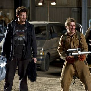 30 Minutes or Less - Danny McBride stars as Dwayne and Nick Swardson stars as Travis in Columbia Pictures' 30 Minutes or Less (2011). Photo by: Wilson Webb.