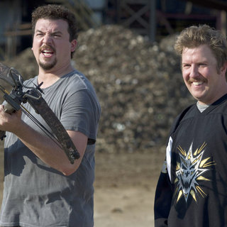 30 Minutes or Less - Danny McBride stars as Dwayne and Nick Swardson stars as Travis in Columbia Pictures' 30 Minutes or Less (2011)