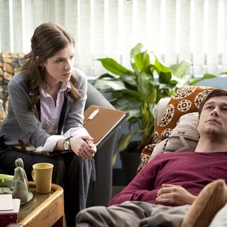 Anna Kendrick stars as Katie and Joseph Gordon-Levitt stars as Adam in Summit Entertainment's 50/50 (2011)