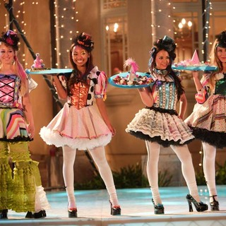 Skyler Shaye as Chloe, Logan Browning as Sasha, Janel Parrish as Jade and Nathalia Ramos as Yasmin in Bratz the Movie (2007)