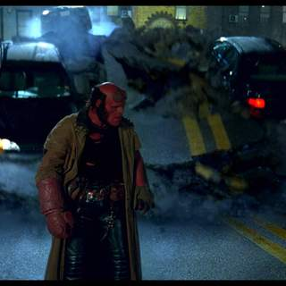 Hellboy II: The Golden Army - Ron Perlman as Hellboy in Universal Pictures' Hellboy II: The Golden Army (2008)