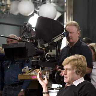 ROBERT REDFORD directs and stars in United Artists/MGM Pictures' LIONS FOR LAMBS (2007). Photo by: David James. - L-002492