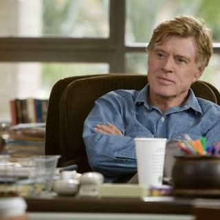 ROBERT REDFORD stars in and directs United Artists/MGM Pictures' LIONS FOR LAMBS (2007). Photo by: David James. - L-01974