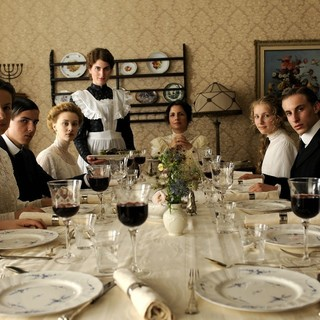 Dangerous Method, A - Katharina Palm, Sarah Gadon, Nadine Salomon, Aaron Keller and Andrea Magro in Sony Pictures Classics' A Dangerous Method (2011)