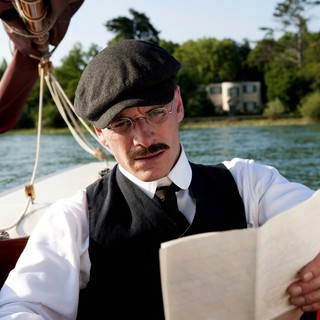 Michael Fassbender stars as Carl Jung in Sony Pictures Classics' A Dangerous Method (2011)