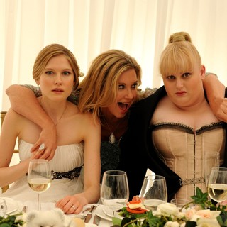 Laura Brent, Olivia Newton-John and Rebel Wilson in Arclight Films' A Few Best Men (2012)