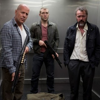 Good Day to Die Hard, A - Bruce Willis, Jai Courtney and Sebastian Koch in 20th Century Fox's A Good Day to Die Hard (2013)