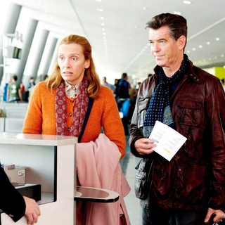 Toni Collette stars as Maureen and Pierce Brosnan stars as Martin Sharp in Magnolia Pictures' A Long Way Down (2014)