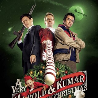 Poster of Warner Bros. Pictures' A Very Harold & Kumar Christmas (2011) - a-vh-and-kc-poster05