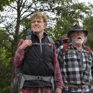 Robert Redford stars as Bill Bryson and Nick Nolte stars as Katz in Broad Green Pictures' A Walk in the Woods (2015)