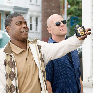 Tracy Morgan and Bruce Willis (Jimmy Monroe) in Warner Bros. Pictures' Cop Out (2010)