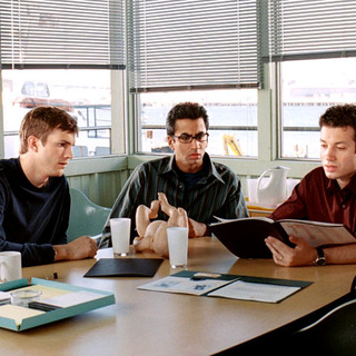 "Ashton Kutcher, Kal Penn and Ty Giordano in Touchstone Pictures' ""A Lot Like Love"" (2005)"