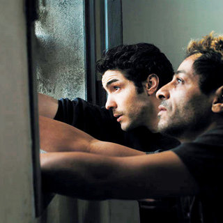 Tahar Rahim stars as Malik El Djebena and Hichem Yacoubi stars as Reyeb in Sony Pictures Classics' A Prophet (2010)