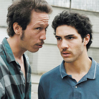 Reda Kateb stars as Jordi and Tahar Rahim stars as Malik El Djebena in Sony Pictures Classics' A Prophet (2010)