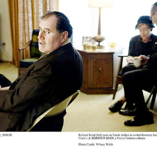 Richard Kind stars as Uncle Arthur in Focus Features' A Serious Man (2009). Photo credit by Wilson Webb.