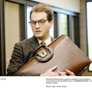 Michael Stuhlbarg stars as Larry Gopnik in Focus Features' A Serious Man (2009). Photo credit by Wilson Webb.