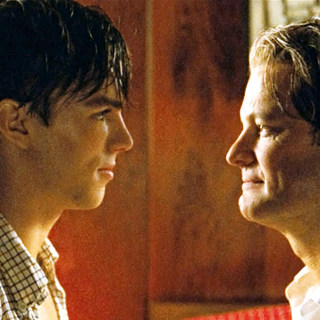 Single Man, A - Nicholas Hoult stars as Kenny and Colin Firth stars as George in The Weinstein Company's A Single Man (2009)