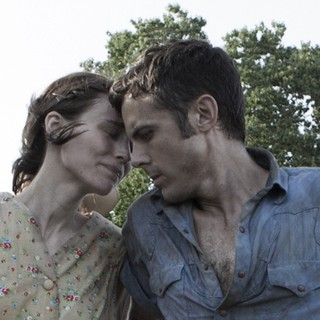 Rooney Mara stars as Ruth Guthrie and Casey Affleck stars as Bob Muldoon in IFC Films' Ain't Them Bodies Saints (2013)