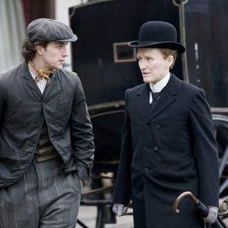 Aaron Johnson stars as Joe Macken and Glenn Close stars as Albert Nobbs in Roadside Attractions' Albert Nobbs (2012)