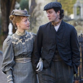 Mia Wasikowska stars as Helen Dawes and Aaron Johnson stars as Joe Macken in Roadside Attractions' Albert Nobbs (2012)