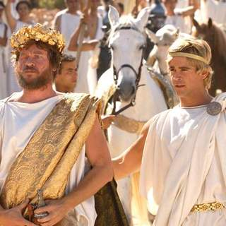 Val Kilmer and Colin Farrell in Oliver Stone' Alexander (2004)