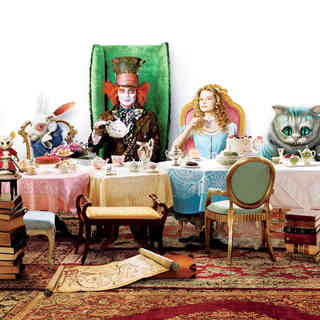 Alice in Wonderland - A scene from Walt Disney Pictures' Alice in Wonderland (2010)