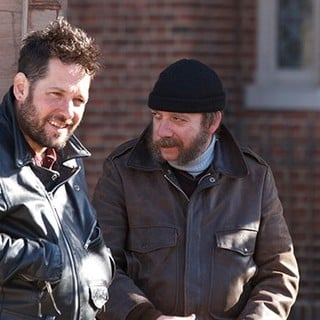 Paul Rudd stars as Rene and Paul Giamatti stars as Dennis in Anchor Bay Films' All Is Bright (2013)