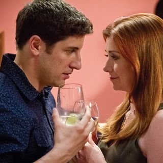 Jason Biggs stars as Jim Levenstein and Alyson Hannigan stars as Michelle Flaherty-Levenstein in Universal Pictures' American Reunion (2012) - american-reunion-img07