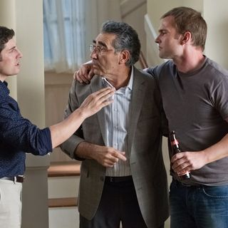 Jason Biggs, Eugene Levy and Seann William Scott in Universal Pictures' American Reunion (2012) - american-reunion-pic04