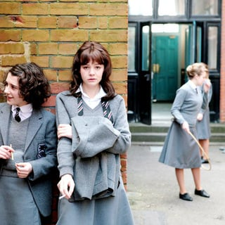 Ellie Kendrick stars as Tina and Carey Mulligan stars as Jenny in Sony Pictures Classics' An Education (2009)