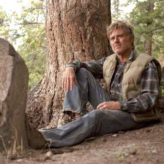Robert Redford as Einar Gilkyson in Miramax Films' An Unfinished Life (2005)