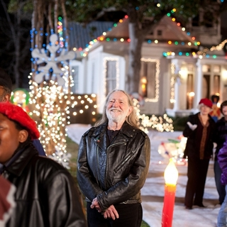 Willie Nelson stars as Nick in Lionsgate Films' Angels Sing (2013)