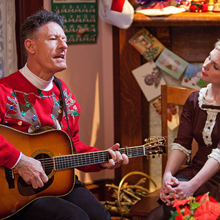 Lyle Lovett stars as Griffin in Lionsgate Films' Angels Sing (2013)