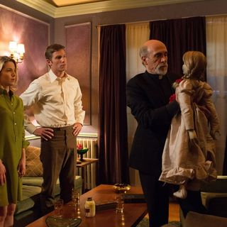 Annabelle Wallis, Ward Horton and Tony Amendola in Warner Bros. Pictures' Annabelle (2014)