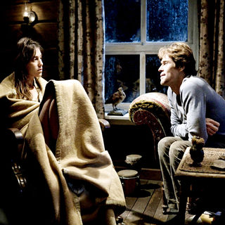 Charlotte Gainsbourg and Willem Dafoe in IFC Films' Antichrist (2009)